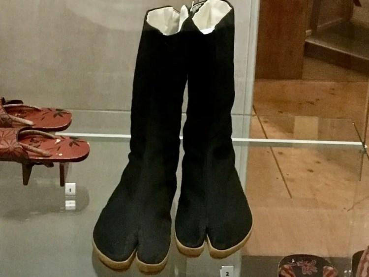 Japanse schoenen: jika-tabi