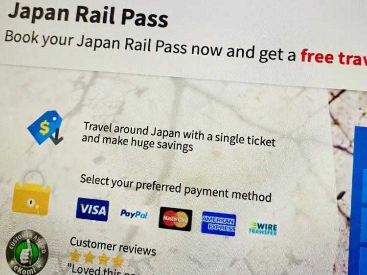 Japan Rail Pass kopen