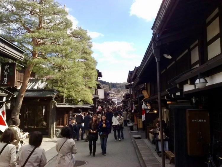 Takayama, een van de 10 mooiste stadjes van Japan