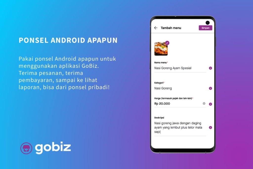 Aplikasi Kasir Android GoBiz