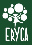 Logo ERYCA color invertido