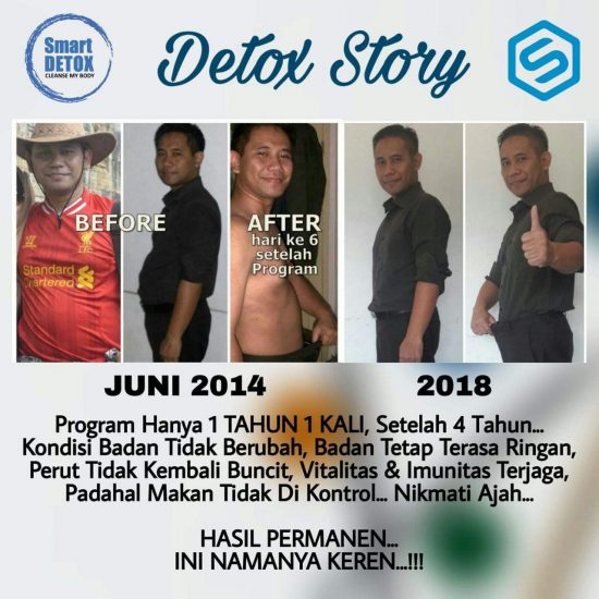 Program Diet Smart Detox Emang Joss