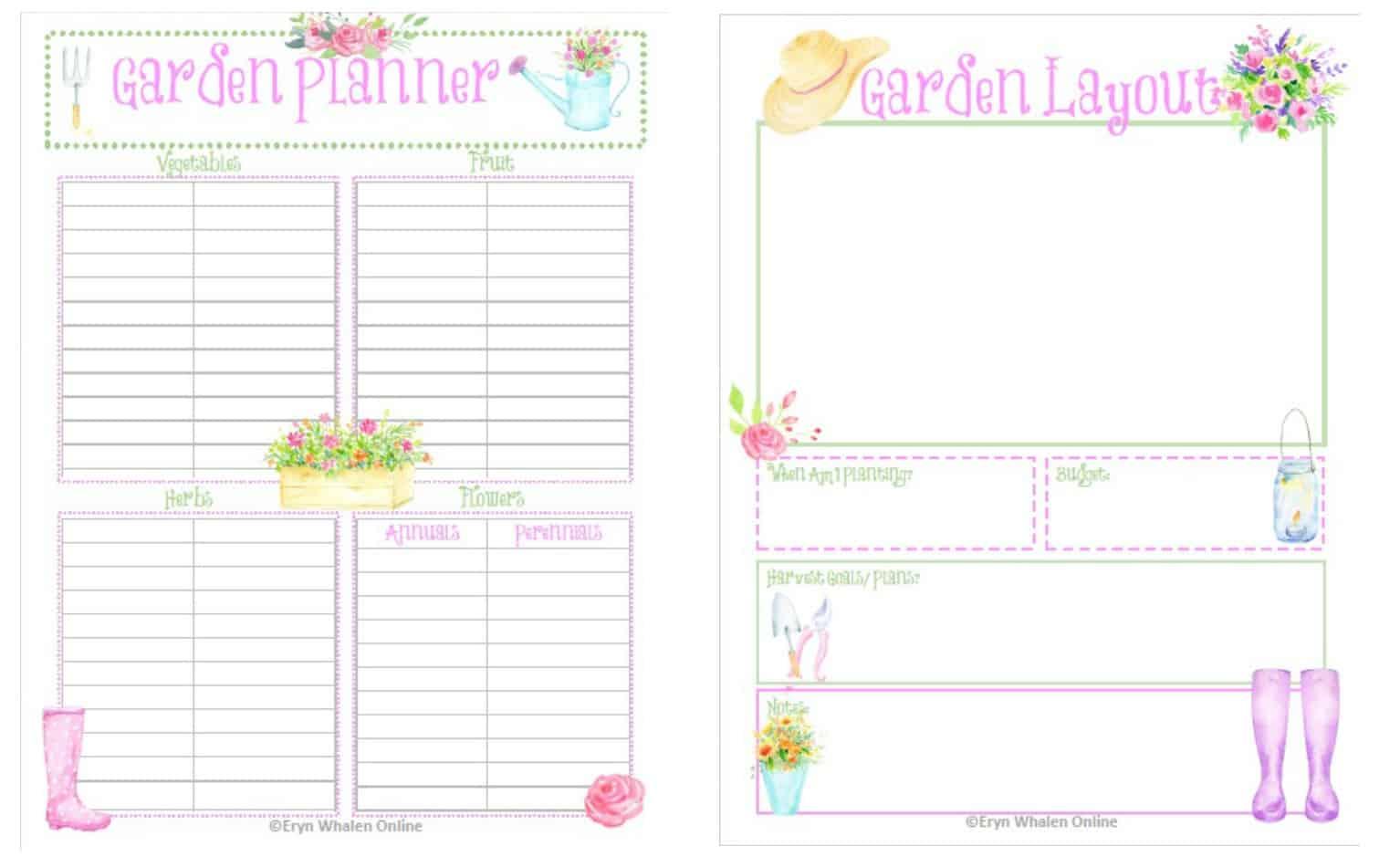 Garden Planning Amp Free Printables