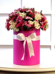 aranjman mevsimbuketi  kutuda çiçek