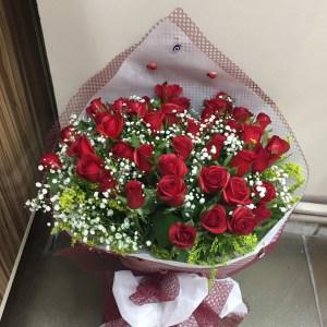kız isteme güller buketler kırmızı gül