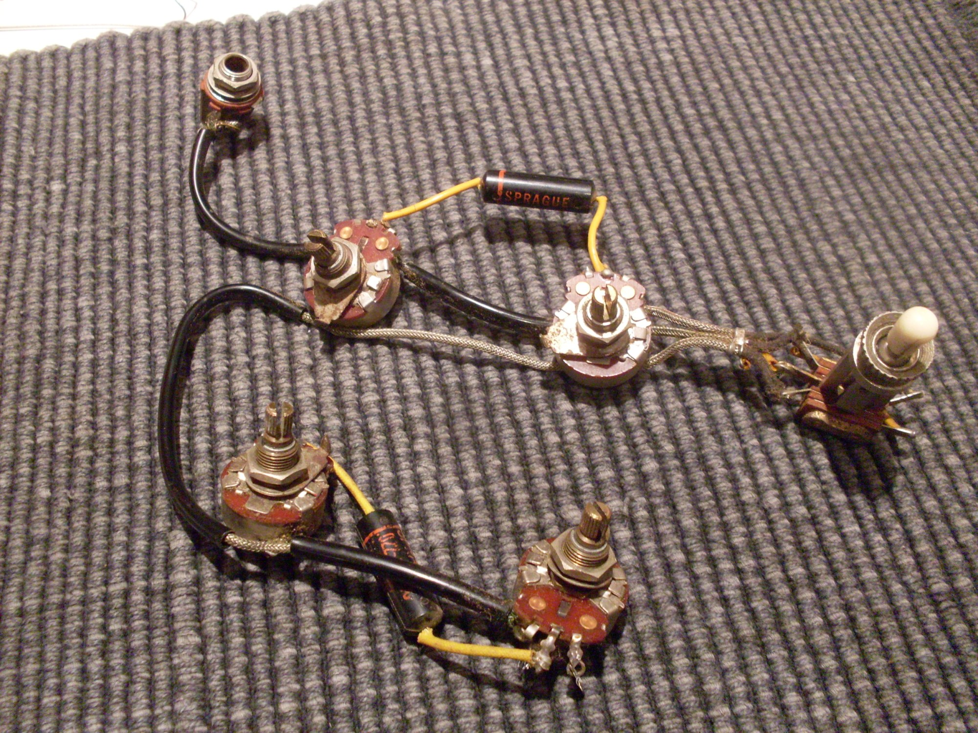 hight resolution of gibson wiring harness gibson image wiring diagram es 345 the gibson es 335 part 7 on