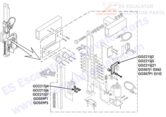 Escalator Brand / ESOTIS / Gear Box and Motor_Page 1 _ES