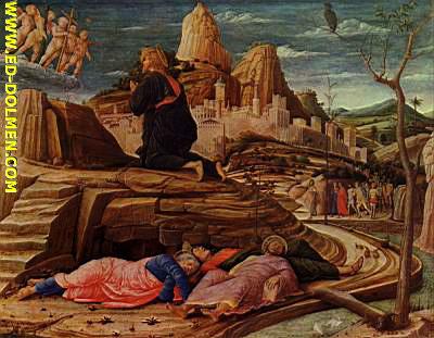 Getsemaní:  Padre, si es posible, que pase de mí este cáliz