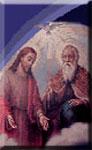 El Hijo actúa en unión con el Padre