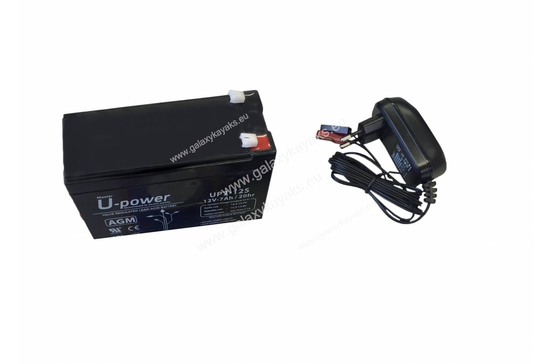 Pack bateria y cargador para sondas Chart Plotter y GPS