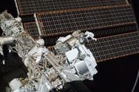 AMS-02 en la Estación Espacial Internacional