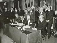 Signature of the Spacelab Memorandum