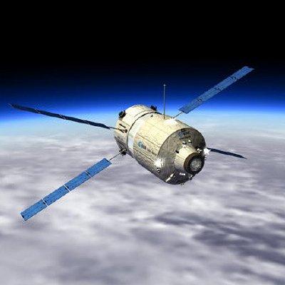 ATV espacio se acerca la estación