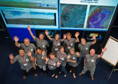 Team of the ESTEC 'science backroom'
