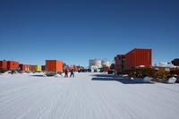 Concordia caravan arrival