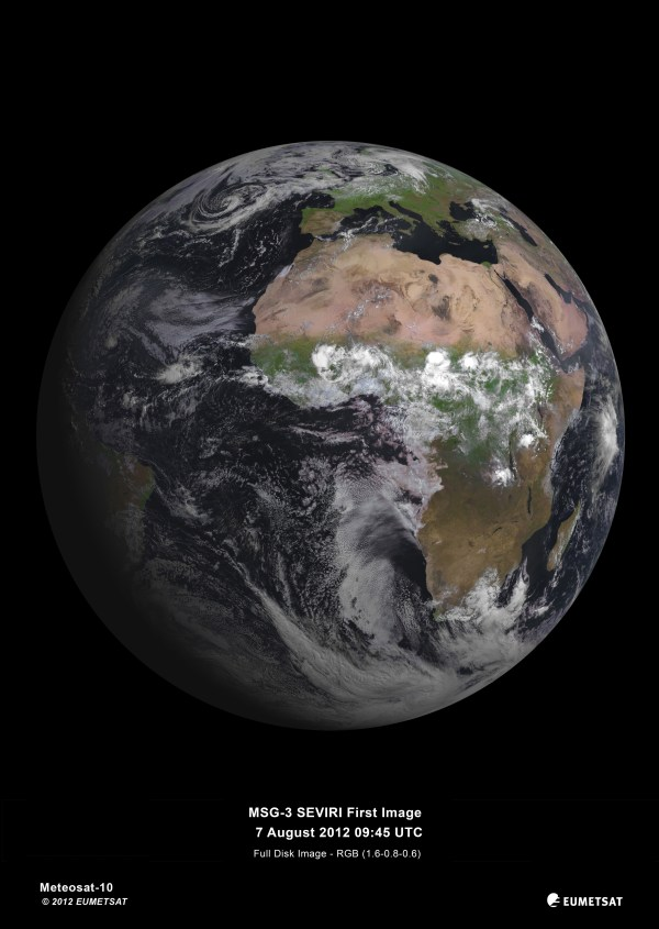 Earth From Space Satellite