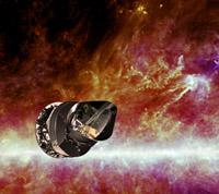 Impresión artística de la nave espacial Planck