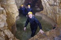 Tim Peake cave training