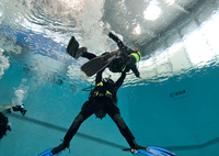 Timothy rescue diver training