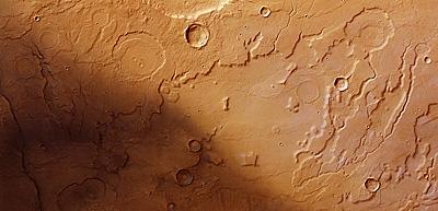 Acidalia Planitia y la transición de Tempe Terra