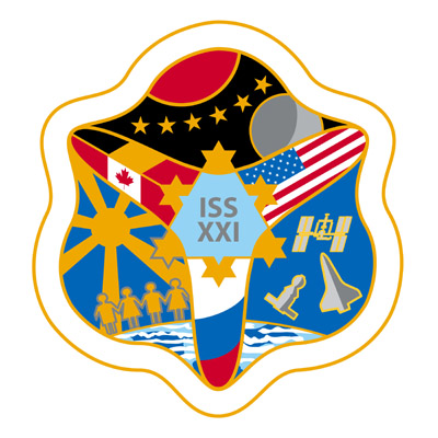 ISS Expedition 21 crew patch