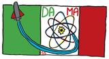 DAMA logotipo de la misión