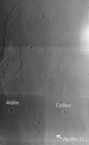 ESA birthday card of Apollo 11 landing site  ESA