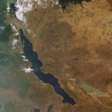 ESA - Earth from Space: Africa's ancient Lake Tanganyika