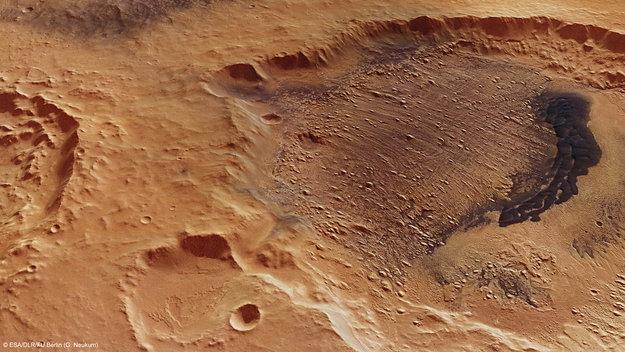 Crater Kalocsa, Marte