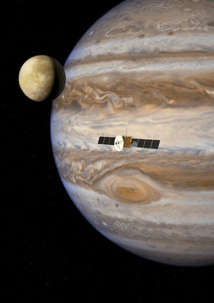 Jupiter explorador de lunas