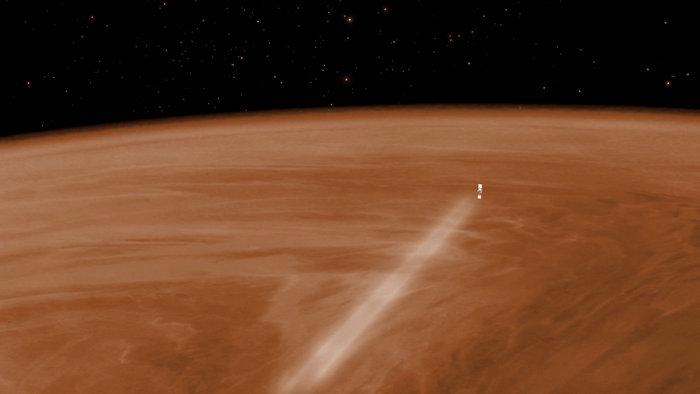 Η αεροπέδηση του Venus Express