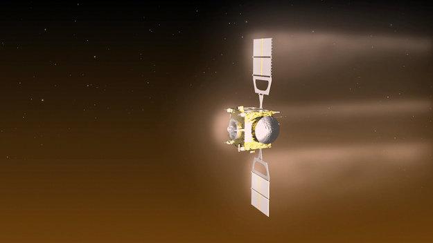 Οπτικοποίηση του ελιγμού αεροπέδησης του Venus Express