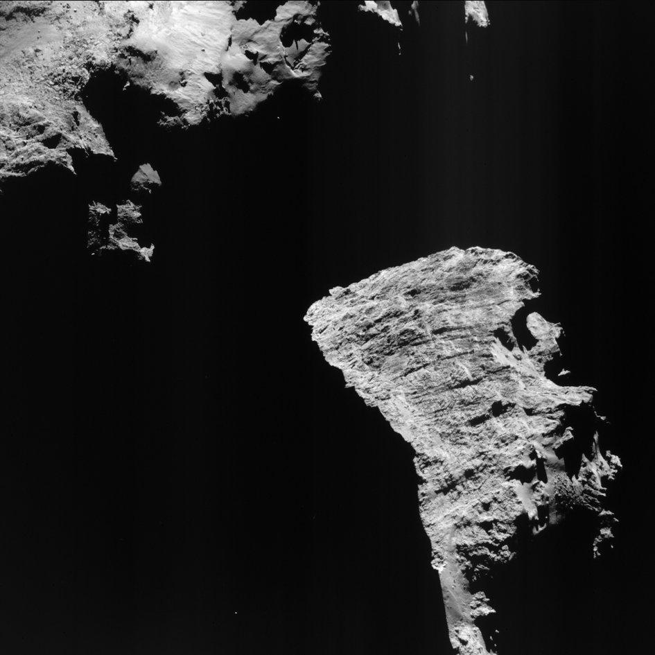 Comet cliffs
