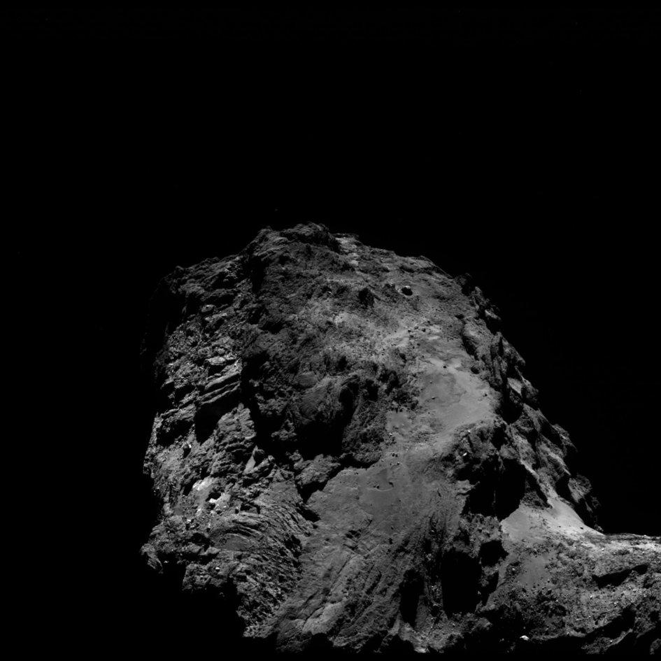 Comet on 2 July 2016 – OSIRIS wide-angle camera