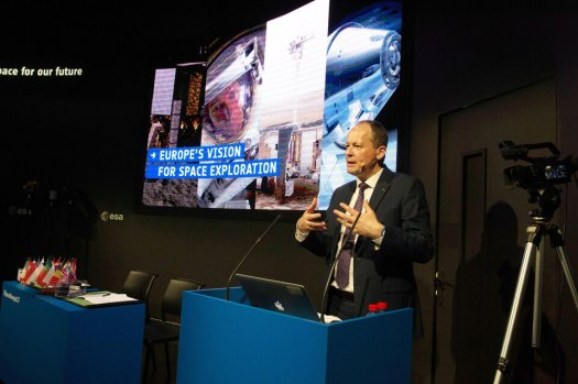 David Parker presents Europe's vision for space exploration