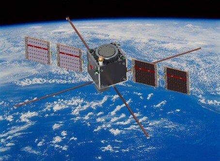 Artist's impression of the ESAIL satellite