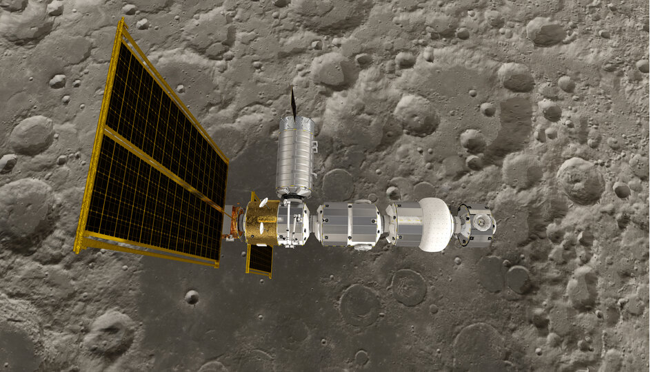 O Gateway espacial oferecerá um posto de preparação para missões na Lua e Marte