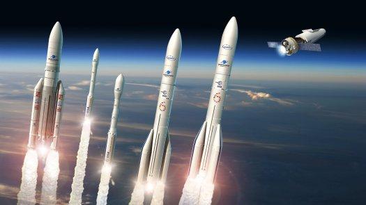 ESA - Europe's rockets