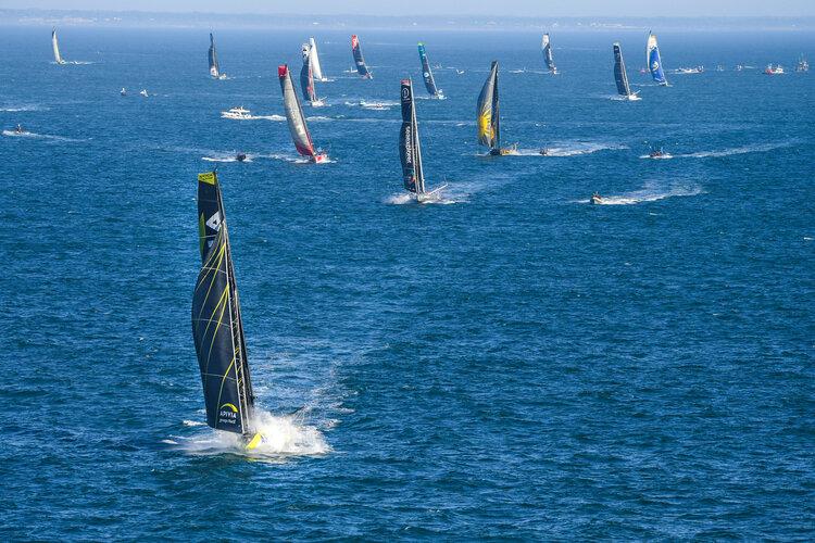 Start of Vendée Globe 2020