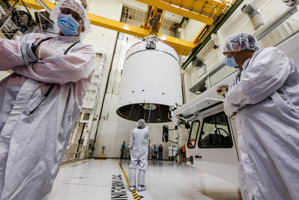 European Service Module-1 for Artemis I ready for fuelling