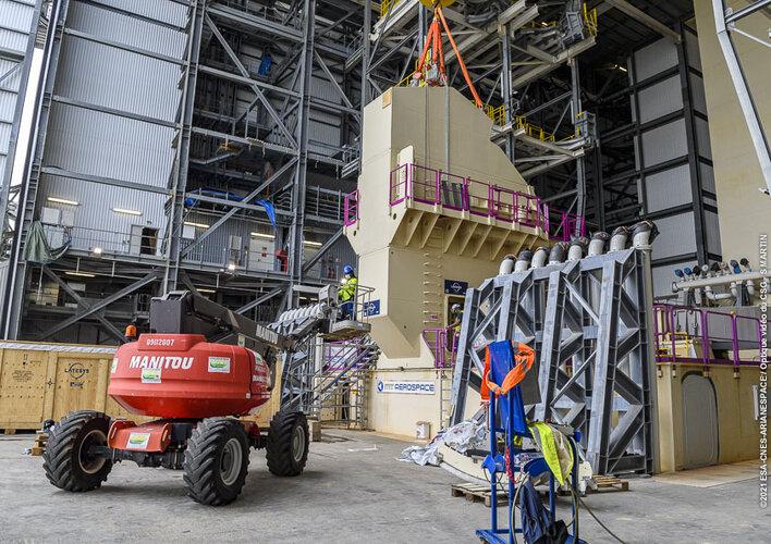 Ariane 6 pre-flight 'plumbing' tests