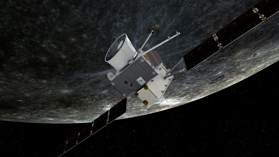 BepiColombo first Mercury flyby