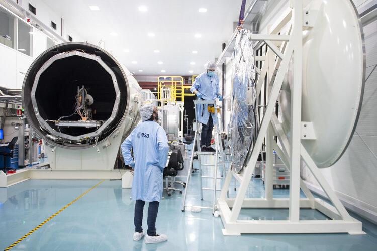 Lorentz test chamber at Sunday's Open Day