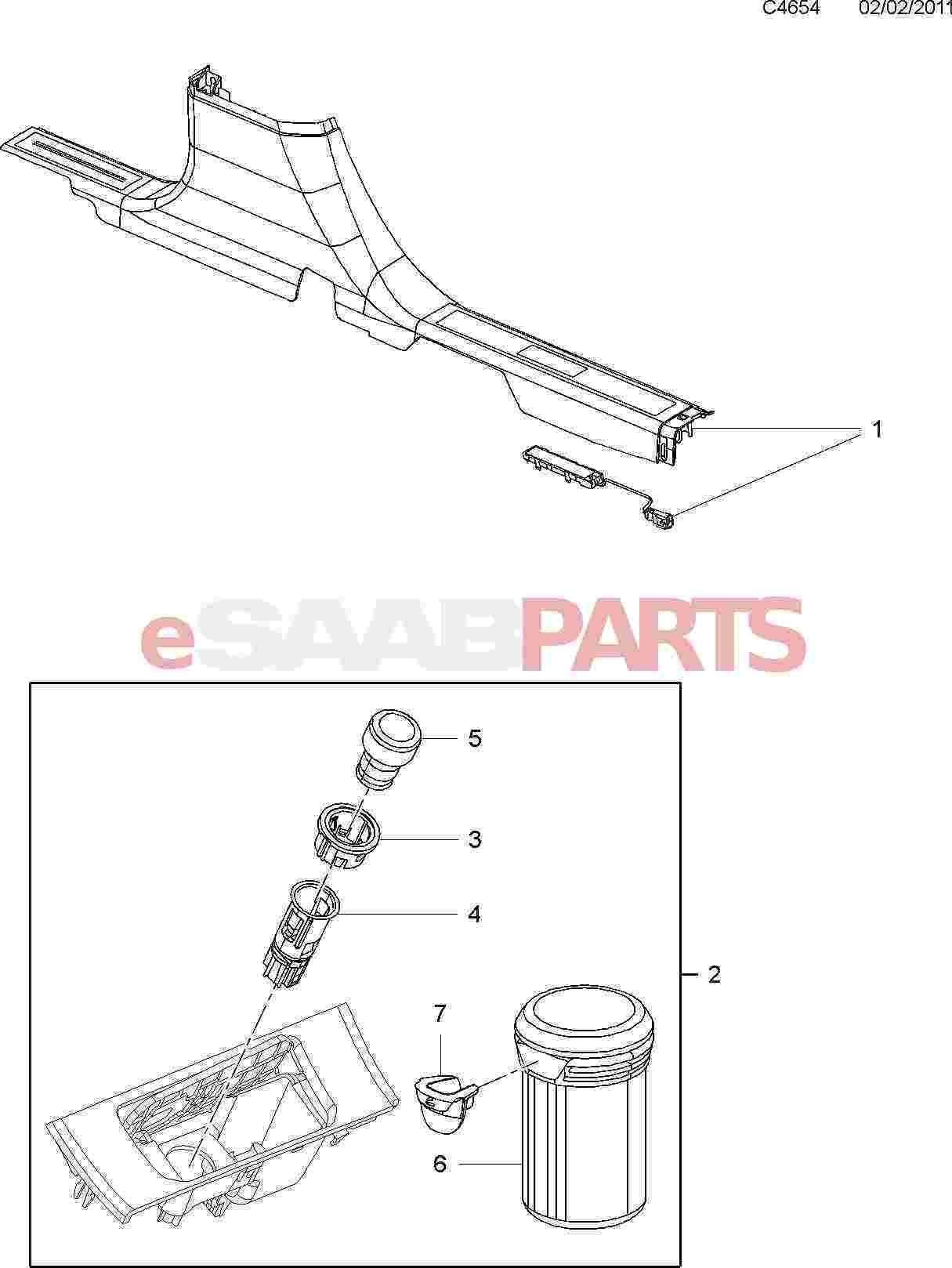 Saab Cigarette Lighter Socket