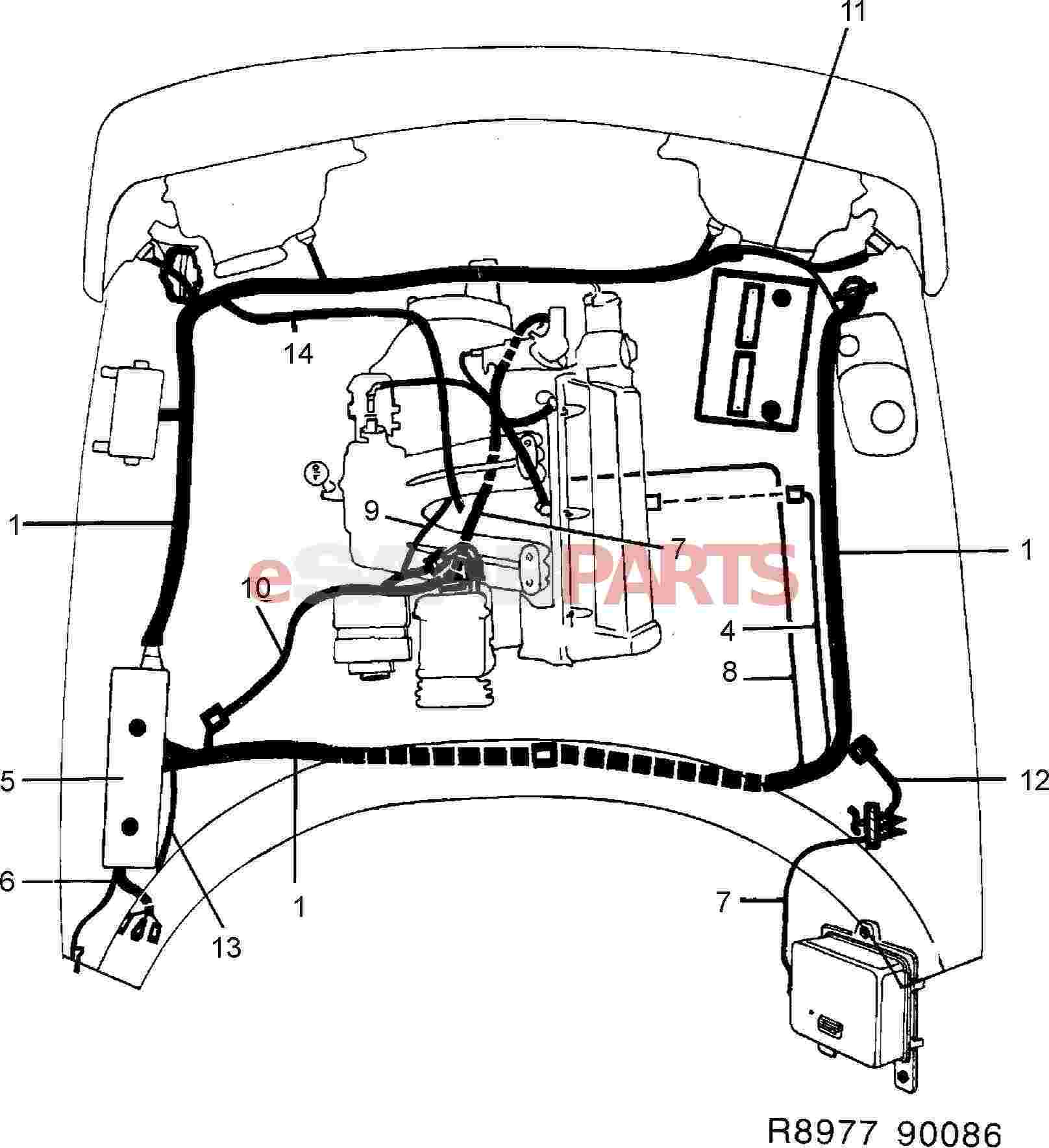 Saab 900 Wiring Harness Painless Wiring Ford 5.0 Maf Iat