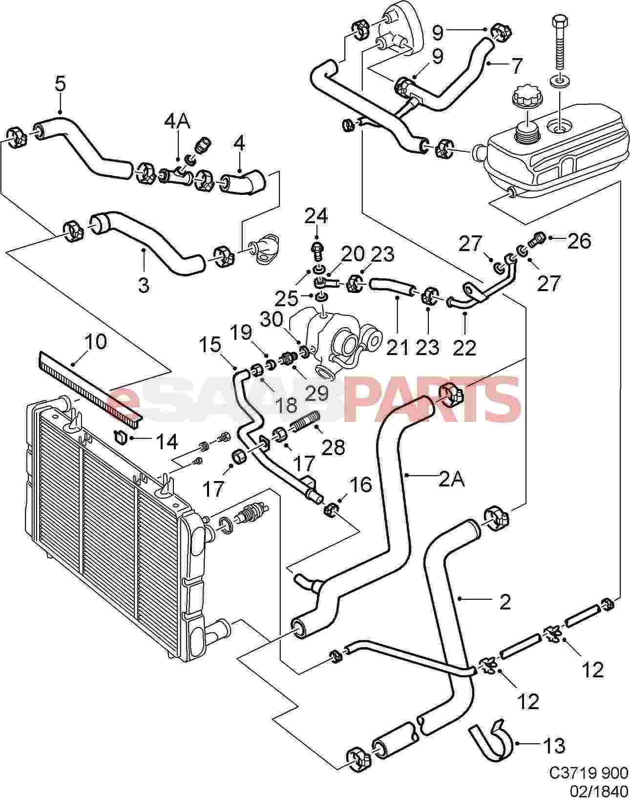 hight resolution of 7970080 saab hose clamp genuine saab parts from saab 97x parts diagram saab 9000 parts diagram