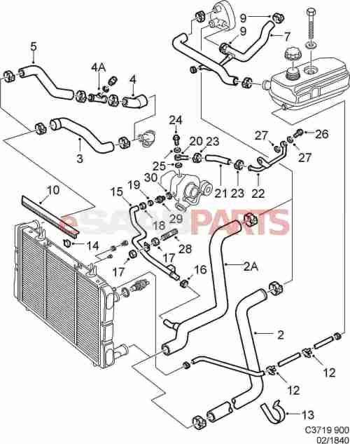 small resolution of 7970080 saab hose clamp genuine saab parts from saab 97x parts diagram saab 9000 parts diagram