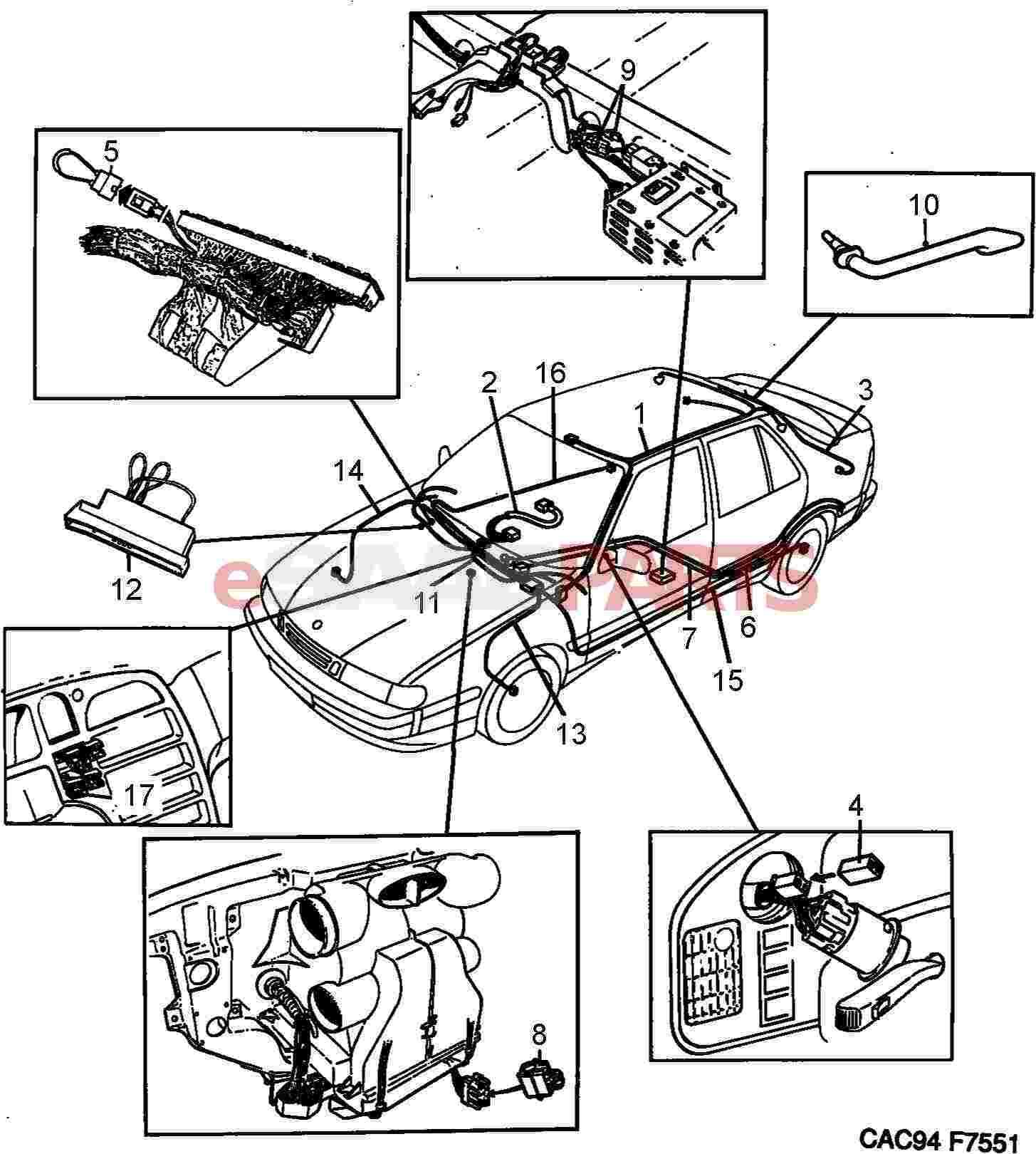 [DIAGRAM] Wiring Diagram For Saab 9000 FULL Version HD