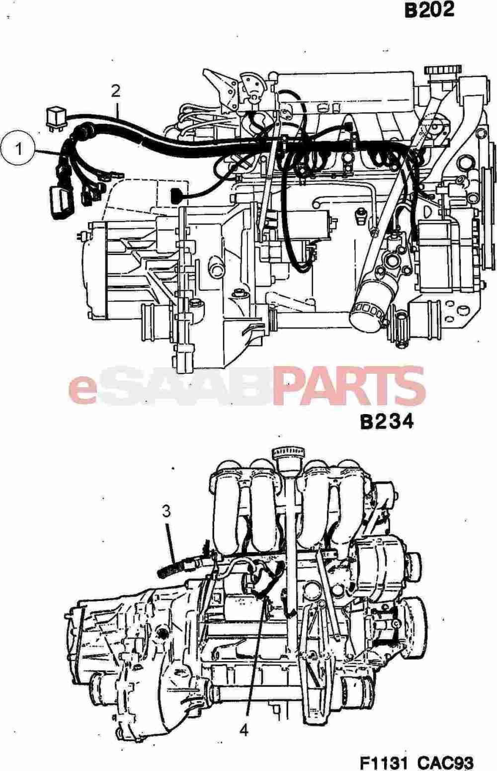 medium resolution of esaabparts com saab 9000 u003e electrical parts u003e wiring harness u003e engine saab 9000 engine wiring harness saab 9000 wiring harness