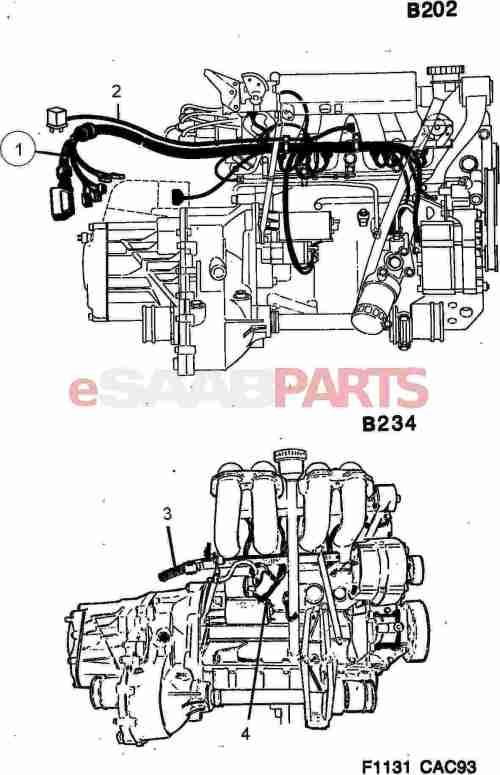 small resolution of esaabparts com saab 9000 u003e electrical parts u003e wiring harness u003e engine saab 9000 engine wiring harness saab 9000 wiring harness